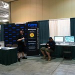 Our new booth