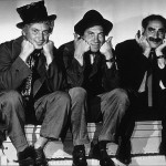 The Marx Brothers - Harpo, Chico and Groucho