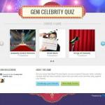 Geni celebrity quiz