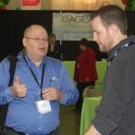 Family Search's Gordon Clark and Noah