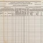 1940 Population schedule