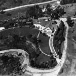 Aerial view of Pickfair