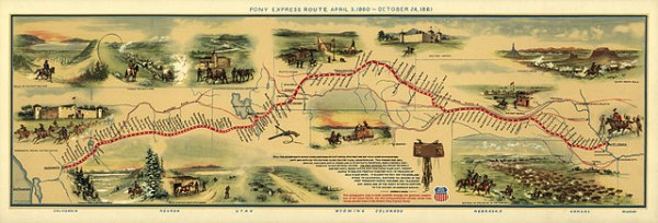 Pony Express Route