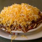 Cincinnati's famous chili spaghetti