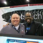 At the Rootstech booth