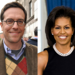 Ed Helms&Michelle Obama