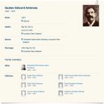 Gustav Edward Ambrose   MyHeritage