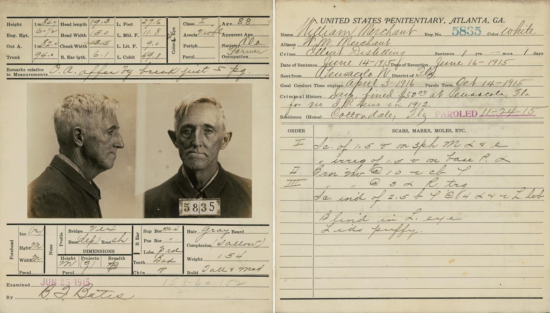 Prison record