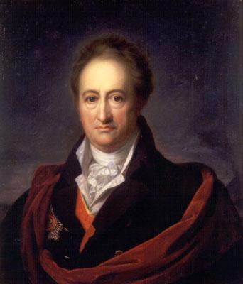 La mort de Goethe (mars 1832) Johann-Wolfgang-von-Goethe