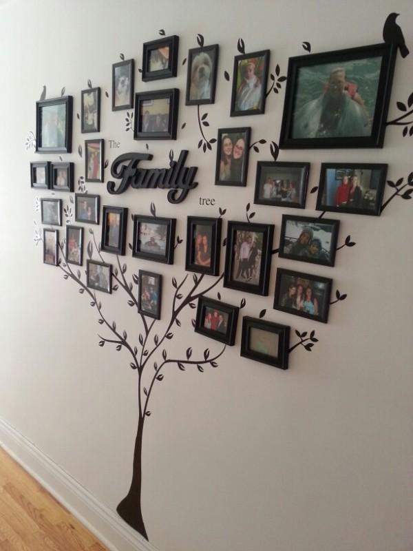 Photo Framed Family Tree
