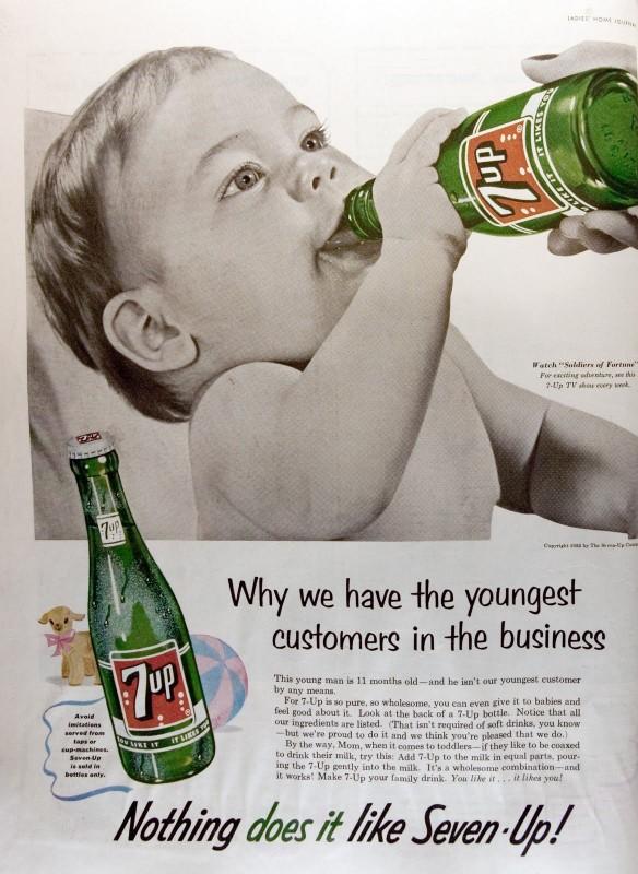 Vintage Ads - 7Up