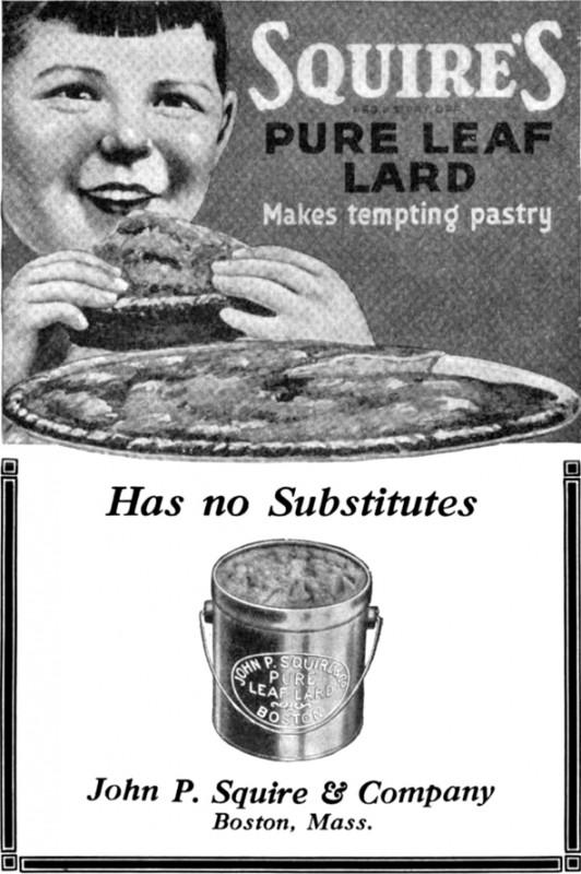 Vintage Ads - Squire's Lard