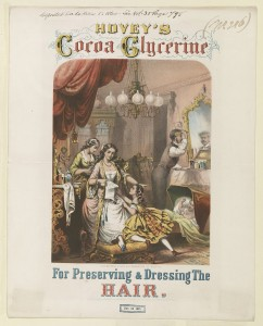 Vintage ads - Hovey's Cocoa Glycerine