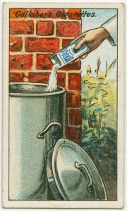 Life tips from early 20th century cigarette cards