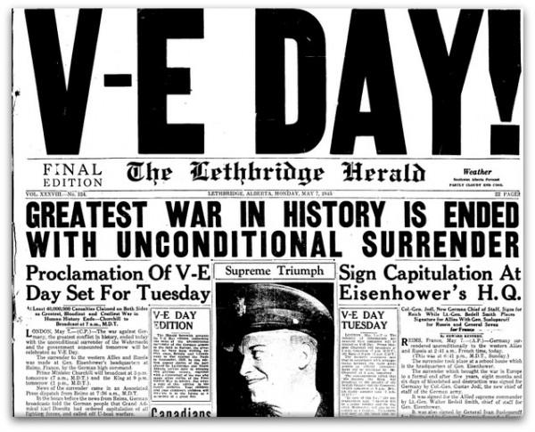 70th Anniversary: Memories of V-E Day