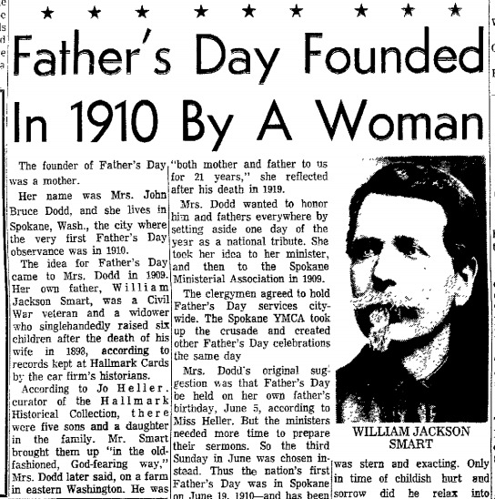 History of Father's Day | Geni