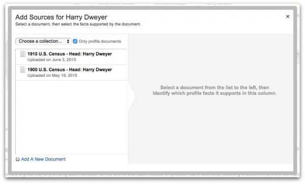Geni Tips: How to Add Sources to Profiles