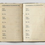 Genealogy Research: Address Books