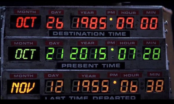 It's Back to the Future Day!