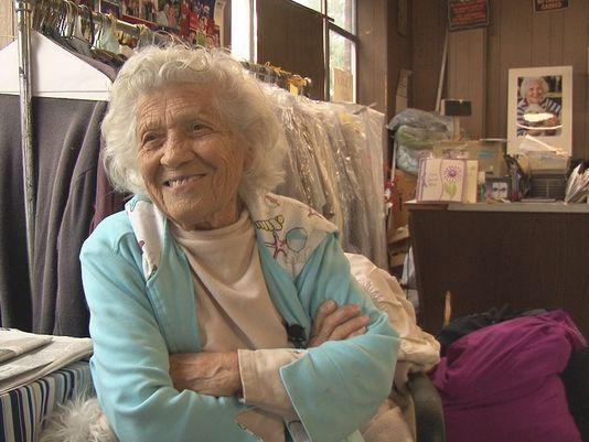 Hardworking Centenarian Still Going Strong