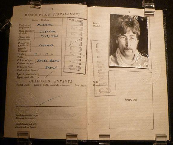 lennon-passport