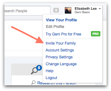 Geni Tips: Invite Relatives to Your Family Tree