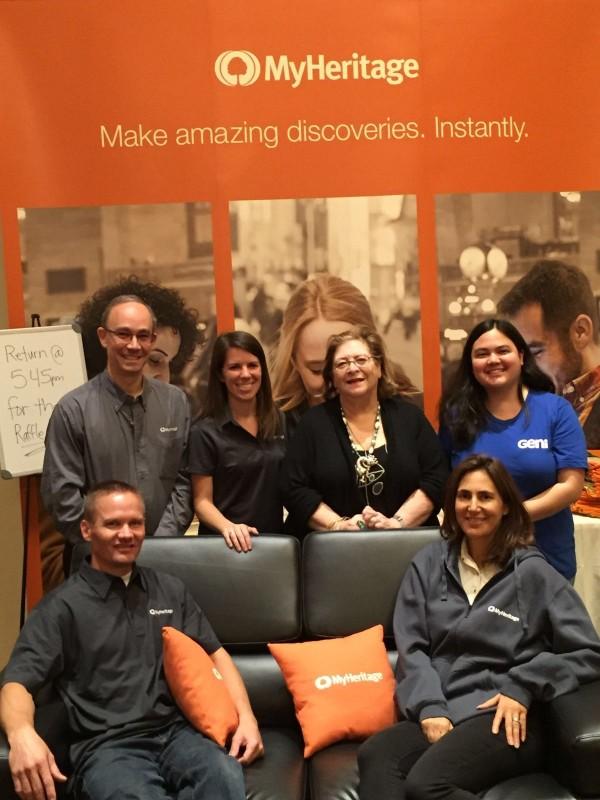 MyHeritage and Geni at IAJGS 2016