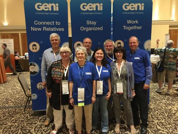 Geni curators at IAJGS 2016