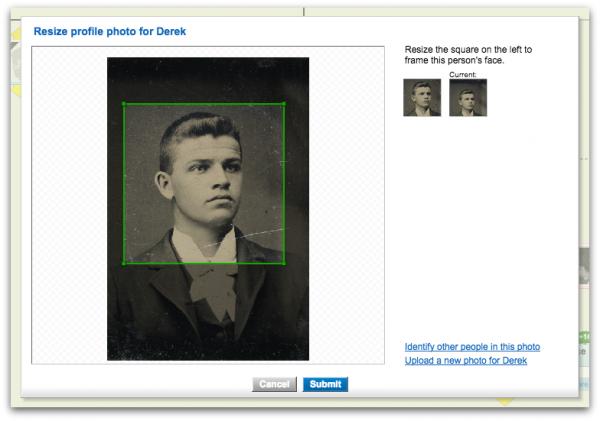 Geni Tips: Resize Photos in the Family Tree