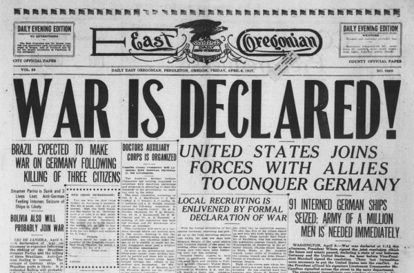 World War I: The U.S. Declares War