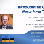 Webinar: Introducing the Geni World Family Tree