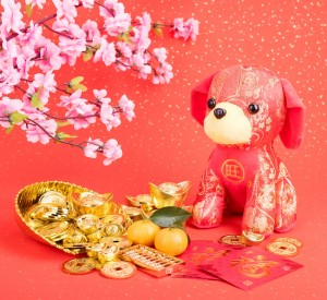 Tradition Chinese cloth doll dog,2018 is year of the dog