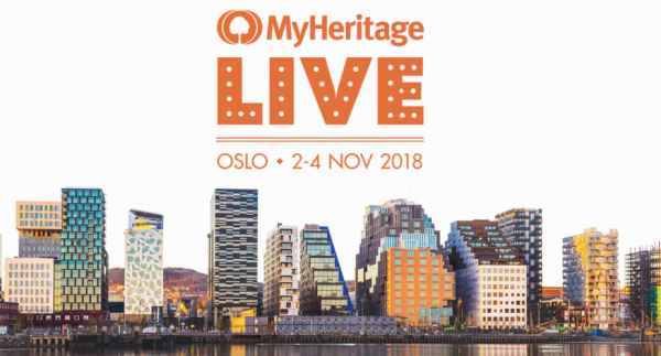 Join Geni at MyHeritage LIVE