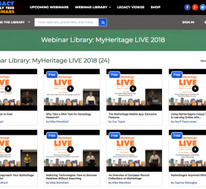 MyHeritage LIVE 2018 Lectures Now Available Online